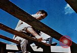 Image of Construction of Officer's Club at Alto Air Base Corsica France , 1944, second 30 stock footage video 65675051899