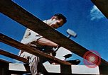 Image of Construction of Officer's Club at Alto Air Base Corsica France , 1944, second 31 stock footage video 65675051899