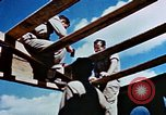 Image of Construction of Officer's Club at Alto Air Base Corsica France , 1944, second 33 stock footage video 65675051899