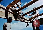Image of Construction of Officer's Club at Alto Air Base Corsica France , 1944, second 37 stock footage video 65675051899