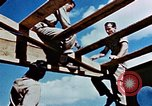 Image of Construction of Officer's Club at Alto Air Base Corsica France , 1944, second 38 stock footage video 65675051899
