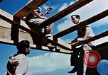 Image of Construction of Officer's Club at Alto Air Base Corsica France , 1944, second 39 stock footage video 65675051899