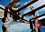 Image of Construction of Officer's Club at Alto Air Base Corsica France , 1944, second 40 stock footage video 65675051899