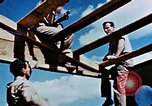 Image of Construction of Officer's Club at Alto Air Base Corsica France , 1944, second 41 stock footage video 65675051899