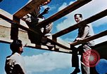 Image of Construction of Officer's Club at Alto Air Base Corsica France , 1944, second 42 stock footage video 65675051899