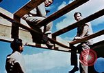 Image of Construction of Officer's Club at Alto Air Base Corsica France , 1944, second 43 stock footage video 65675051899