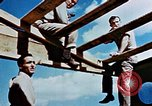 Image of Construction of Officer's Club at Alto Air Base Corsica France , 1944, second 45 stock footage video 65675051899
