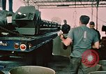 Image of loading bombs on B-52 aircraft in Vietnam War Guam, 1967, second 15 stock footage video 65675051905
