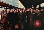 Image of liberated Frenchmen Germany, 1945, second 58 stock footage video 65675051915