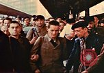 Image of liberated Frenchmen Germany, 1945, second 59 stock footage video 65675051915