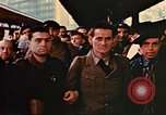 Image of liberated Frenchmen Germany, 1945, second 60 stock footage video 65675051915
