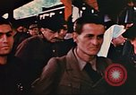 Image of liberated Frenchmen Germany, 1945, second 62 stock footage video 65675051915