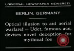 Image of aircraft Berlin Germany, 1931, second 2 stock footage video 65675051978