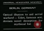 Image of aircraft Berlin Germany, 1931, second 7 stock footage video 65675051978