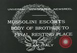 Image of Premier Mussolini Forli Italy, 1932, second 11 stock footage video 65675051987