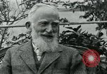 Image of George Bernard Shaw Suna Italy, 1926, second 34 stock footage video 65675051998