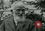 Image of George Bernard Shaw Suna Italy, 1926, second 36 stock footage video 65675051998