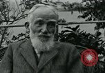 Image of George Bernard Shaw Suna Italy, 1926, second 37 stock footage video 65675051998