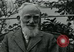 Image of George Bernard Shaw Suna Italy, 1926, second 38 stock footage video 65675051998