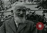 Image of George Bernard Shaw Suna Italy, 1926, second 39 stock footage video 65675051998