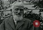 Image of George Bernard Shaw Suna Italy, 1926, second 40 stock footage video 65675051998
