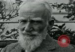Image of George Bernard Shaw Suna Italy, 1926, second 41 stock footage video 65675051998