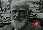 Image of George Bernard Shaw Suna Italy, 1926, second 42 stock footage video 65675051998
