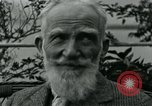 Image of George Bernard Shaw Suna Italy, 1926, second 43 stock footage video 65675051998