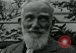 Image of George Bernard Shaw Suna Italy, 1926, second 44 stock footage video 65675051998