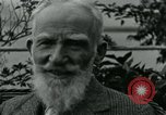 Image of George Bernard Shaw Suna Italy, 1926, second 46 stock footage video 65675051998