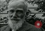 Image of George Bernard Shaw Suna Italy, 1926, second 47 stock footage video 65675051998
