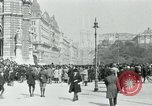 Image of Ringstrasse Vienna Austria, 1919, second 31 stock footage video 65675052003
