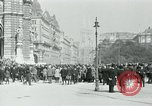 Image of Ringstrasse Vienna Austria, 1919, second 33 stock footage video 65675052003