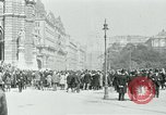 Image of Ringstrasse Vienna Austria, 1919, second 36 stock footage video 65675052003