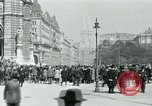 Image of Ringstrasse Vienna Austria, 1919, second 37 stock footage video 65675052003