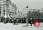 Image of Ringstrasse Vienna Austria, 1919, second 40 stock footage video 65675052003