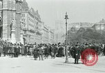 Image of Ringstrasse Vienna Austria, 1919, second 41 stock footage video 65675052003