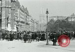 Image of Ringstrasse Vienna Austria, 1919, second 42 stock footage video 65675052003