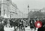 Image of Ringstrasse Vienna Austria, 1919, second 45 stock footage video 65675052003