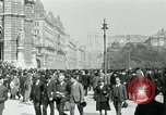 Image of Ringstrasse Vienna Austria, 1919, second 46 stock footage video 65675052003