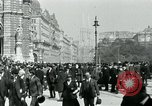 Image of Ringstrasse Vienna Austria, 1919, second 48 stock footage video 65675052003