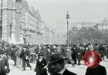 Image of Ringstrasse Vienna Austria, 1919, second 49 stock footage video 65675052003