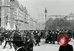 Image of Ringstrasse Vienna Austria, 1919, second 50 stock footage video 65675052003