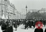 Image of Ringstrasse Vienna Austria, 1919, second 51 stock footage video 65675052003