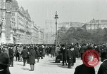 Image of Ringstrasse Vienna Austria, 1919, second 52 stock footage video 65675052003