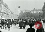 Image of Ringstrasse Vienna Austria, 1919, second 54 stock footage video 65675052003