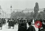 Image of Ringstrasse Vienna Austria, 1919, second 57 stock footage video 65675052003