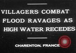 Image of flooded streets Charenton France, 1930, second 1 stock footage video 65675052007