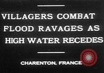 Image of flooded streets Charenton France, 1930, second 2 stock footage video 65675052007