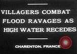 Image of flooded streets Charenton France, 1930, second 5 stock footage video 65675052007